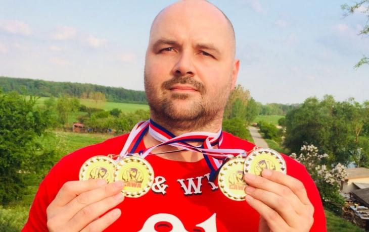 Z mistrovství Evropy si odvezl bronz