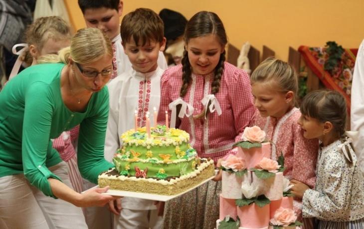 Polešovjánek dostal dva dorty