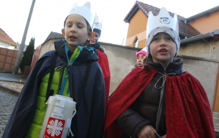 Kašpar, Melichar a Baltazar mají rekord. Na Slovácku vykoledovali 3,9 milionu!
