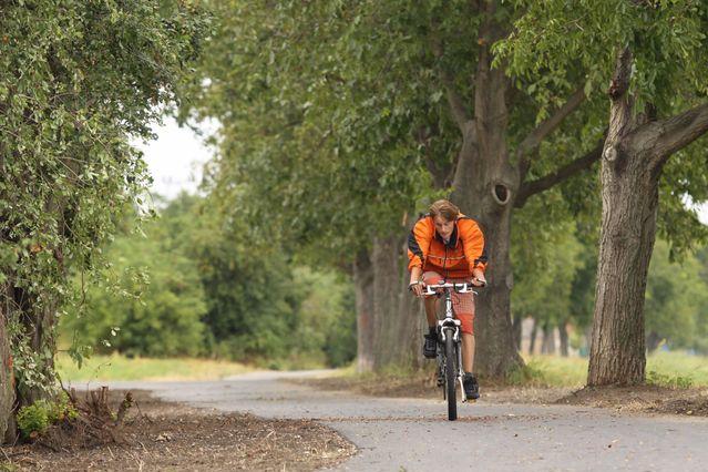 Z Boršic do Zlechova po cyklostezce svatého Metoděje