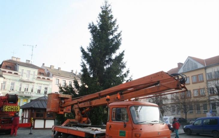 Vánoční strom se rozsvítí v pátek