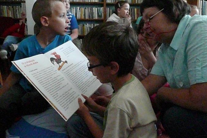Titul pro knihovnu v Modré a babickou knihovnici