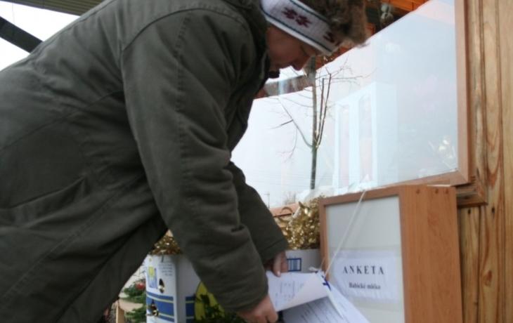 Babičtí hlasují o mléčném automatu