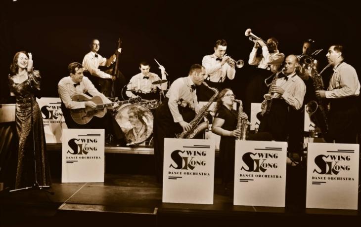 Swingový večírek s Swing Kong Dance Orchestra