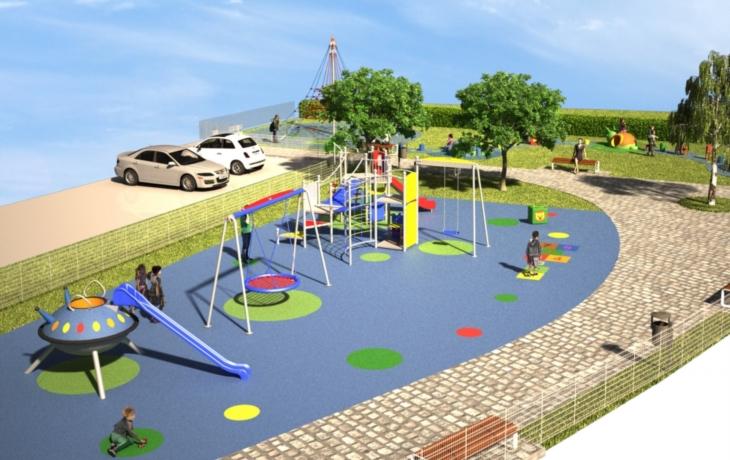 Podobu nového centra vylepší i dětské hřiště
