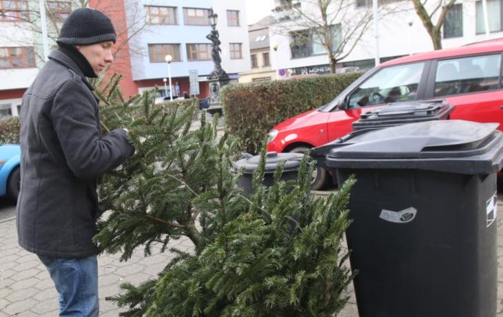 Stromky nepatří do popelnic!
