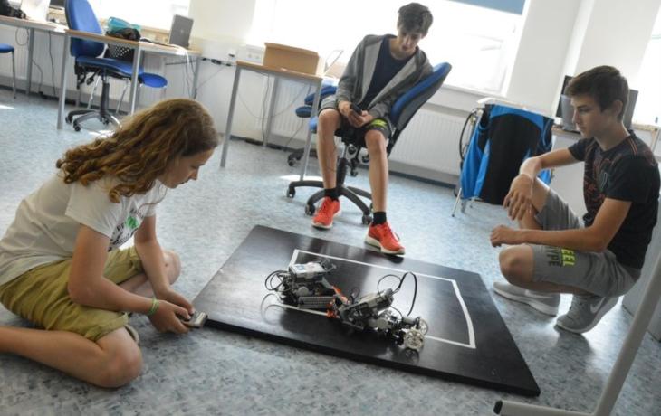 Sumo v podání robotů!