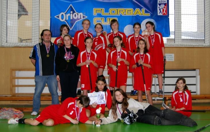 Florbalistky o finále