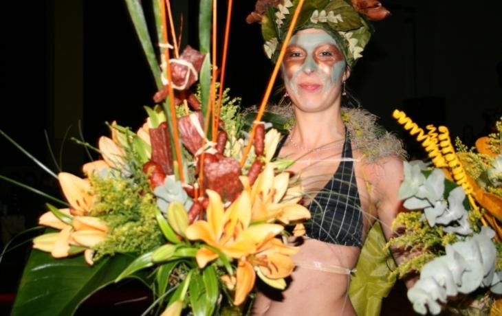 Květinová fantazie z Jalubí