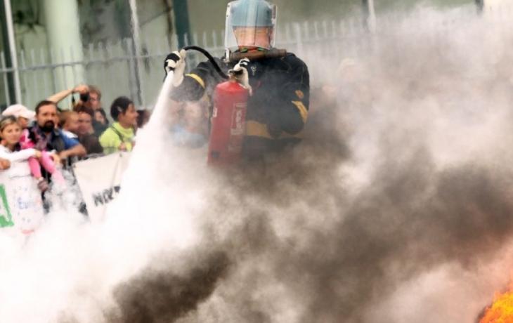 Krajští hasiči na titul nedosáhli, skončili pátí