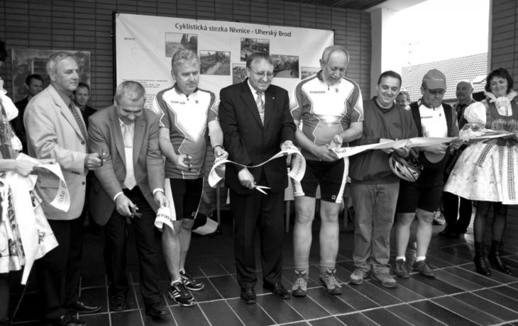 Cyklodálnice do Nivnice je už vplném provozu