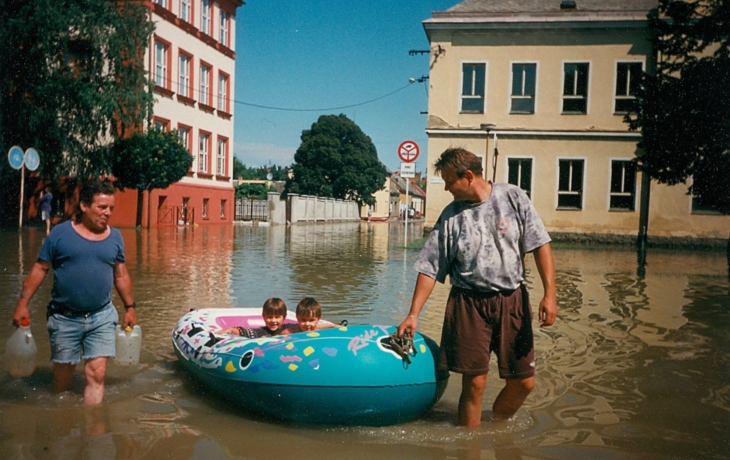 Velká voda vyplavila 540 domů