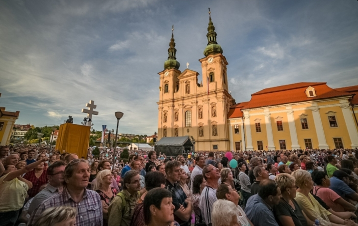Palladium země České se vrací na Velehrad