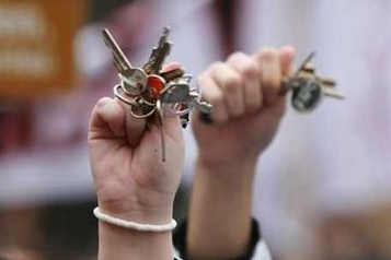 V Brodě sbírají klíče. Vznikne z nich památník sametové revoluce