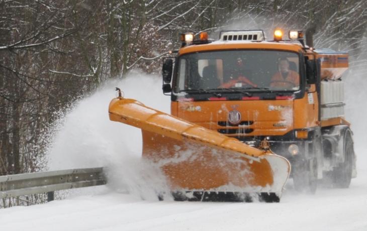 Zimní údržba zatím spolkla 14 milionů. Je nejnákladnější za tři roky