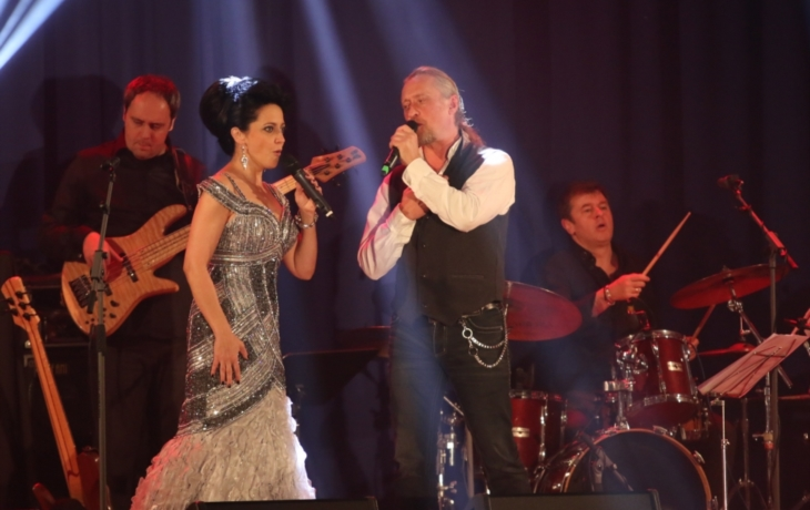 Koncert Lucie Bílé zvedl posluchače ze židlí