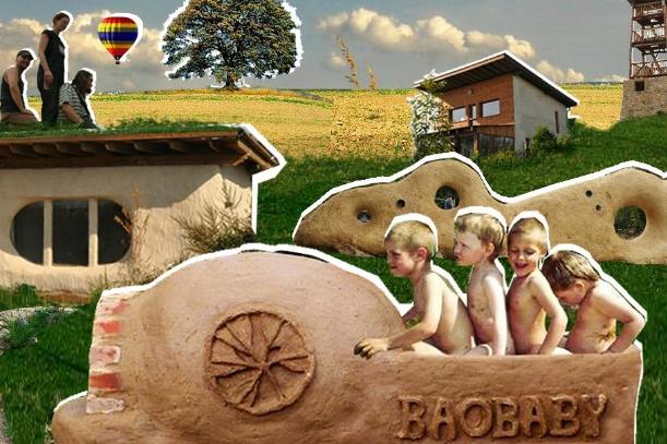 Domy ze slámy, hlíny a dřeva: přednáška o alternativě