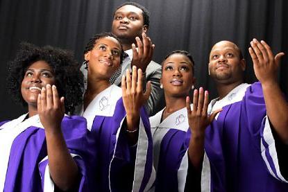 The Soulful Gospel Singers na Gospelových Vánocích