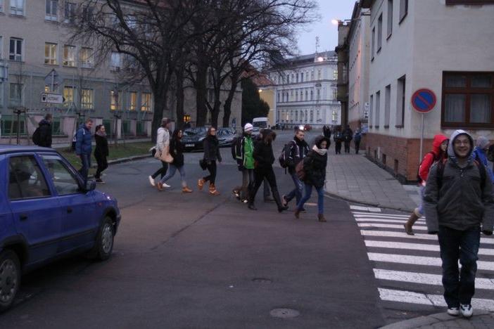 Zebra studenty neochrání, město je proti