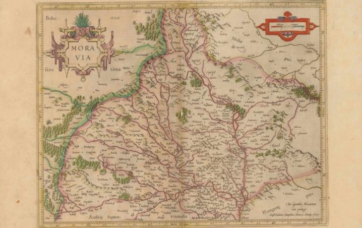 Unikátní eBadatelna nabízí Moravskou Slovač nebo barokní mapy