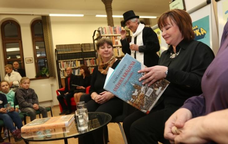 Děti přivítal Andersen, pohádku četla první dáma