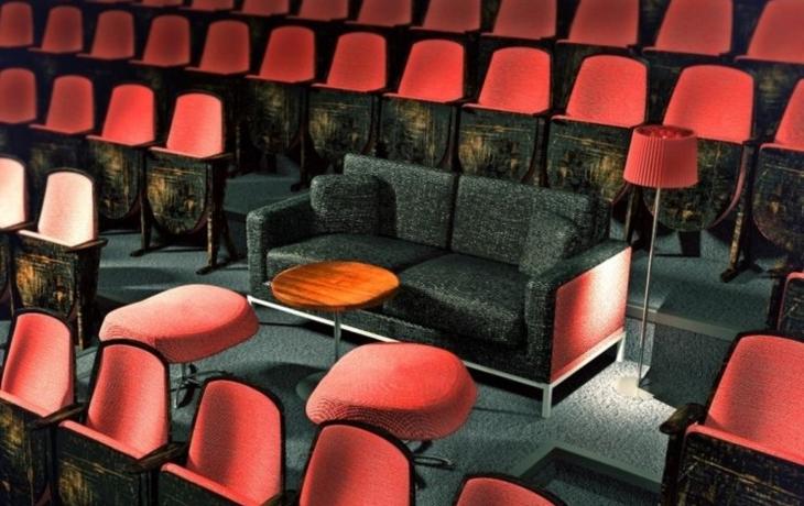 Kino chystá novinku. Lenošení v sofa i stolky v hledišti