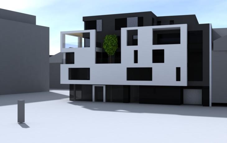Rezidence Zelný trh. Obchody a bydlení za miliony