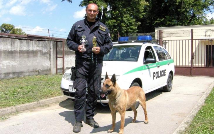 """Zlatým """"revírníkem"""" je policejní pes Geros"""