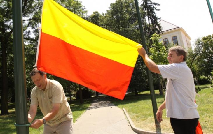 Bzenec, Veselí a Strání vyvěsily moravskou vlajku