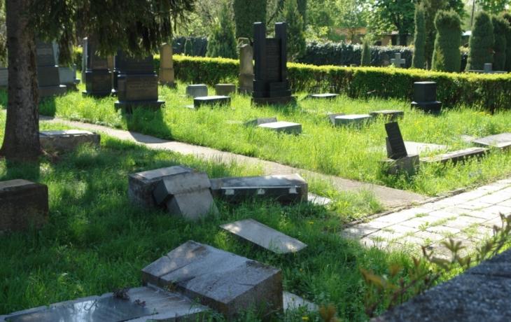 Židovský hřbitov se opravuje