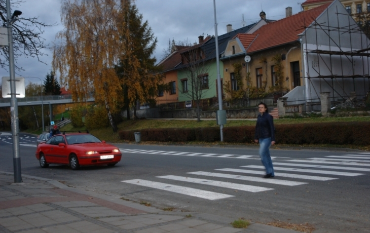 Řidiče zastaví světelná závora