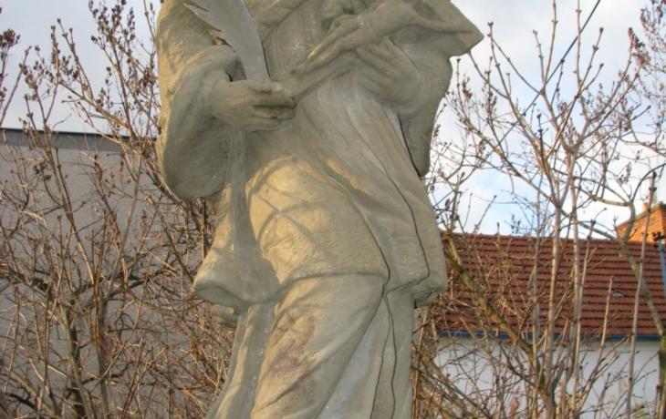 Další bezhlavá socha na Slovácku