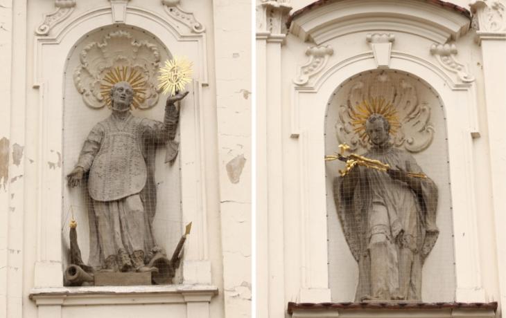 Svatý Alois a Ignác už září