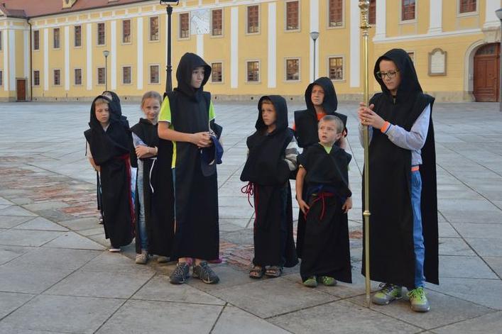 Návštěvníky přivítala noční bazilika