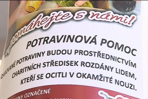 Postní potravinová sbírka ve 24 obcích