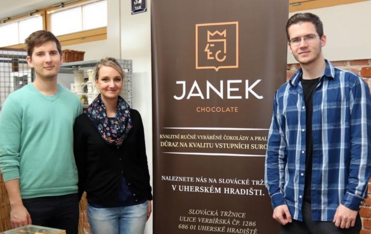 Čokoládové dobroty z Uherského Brodu