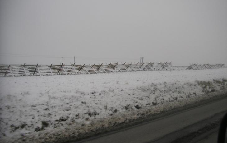 Zabrání sněhovým jazykům