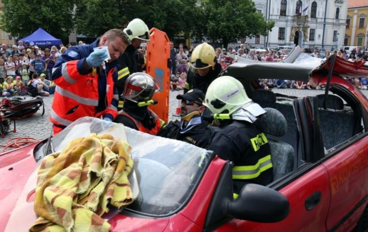 Nehodu řidič přežil