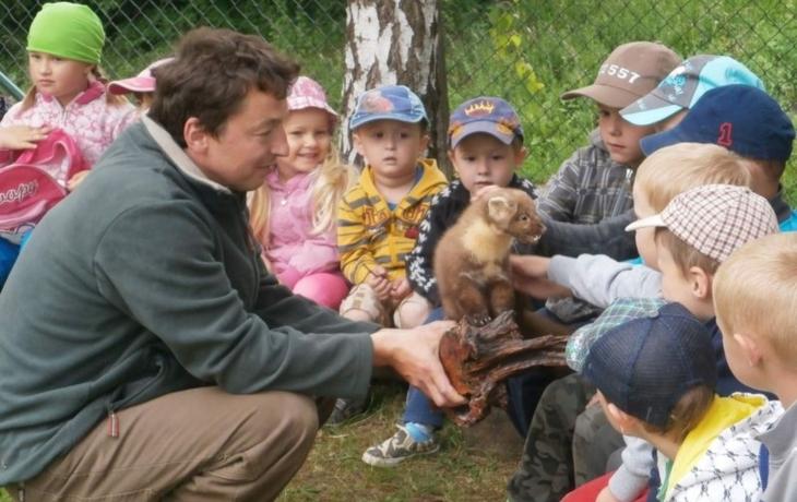 """""""Školka mění přírodu ve výchovnou pomůcku"""""""