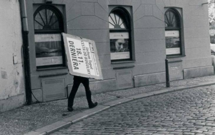 Herec z Partičky vystavuje v Galerii Slováckého muzea