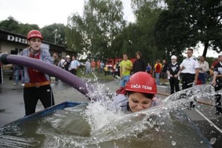 Velká cena hasičů: Peška mají Vésky