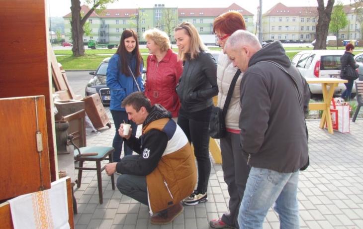 Historický blešák ve Slovácké tržnici