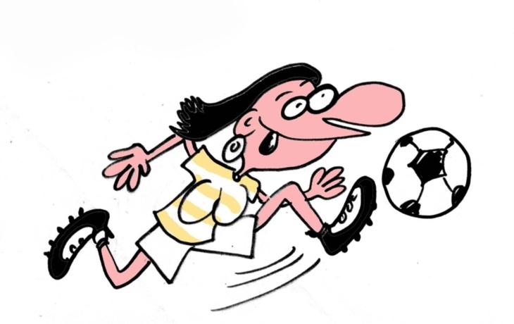 Fotbal? Spíš nakopávaná