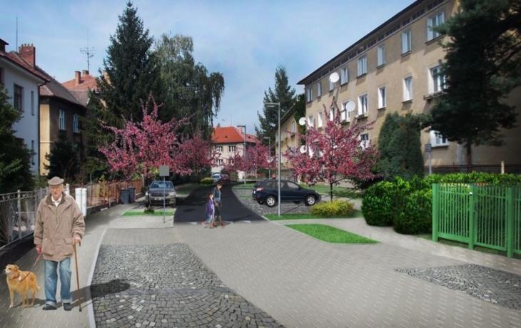 Plán na rekonstrukci zdevastované ulice rozhádal sousedy