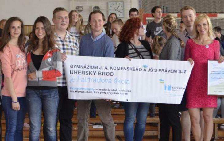 V Brodě mají první fairtrade i fakultní školy