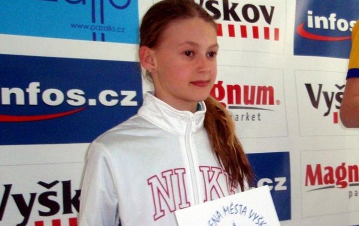 Šest medailí plavkyně Galuškové