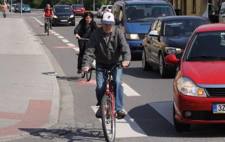 Uherské Hradiště je třetím nejlepším městem pro cyklisty