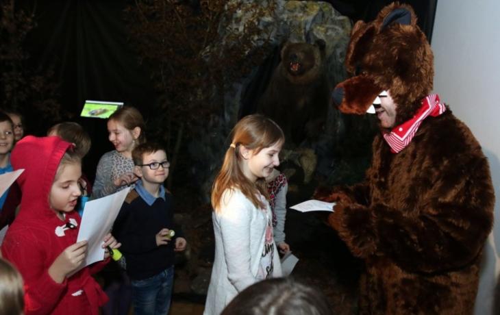 Učitelku zastoupil medvěd