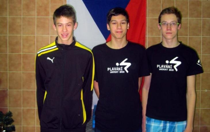 Uherskobrodští plavci zůstali bez medaile