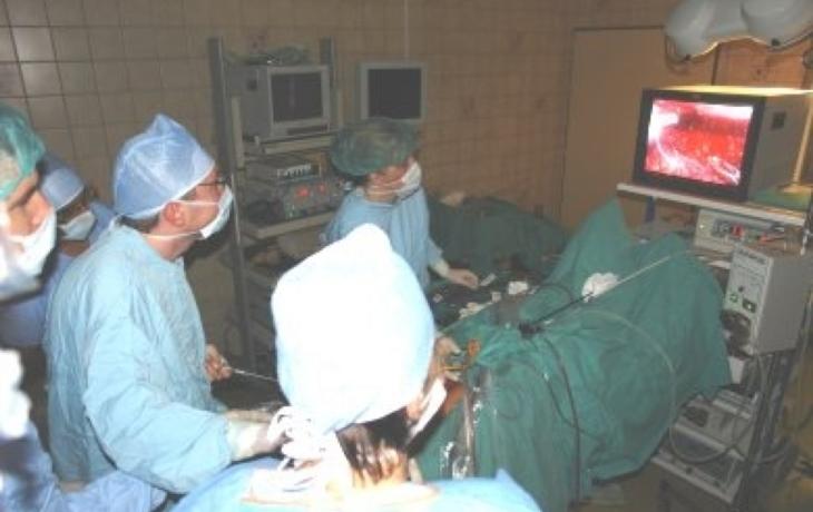 Jako první v kraji odstraňují laparoskopicky prostatu
